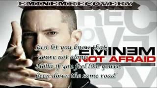 eminem i m not afraid lyrics hq