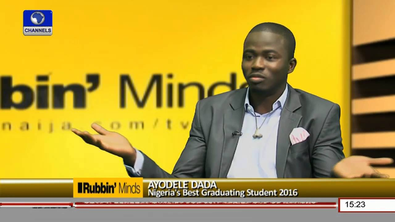 Rubbin Minds: Nigeria's Best Graduating Student Shares Experience