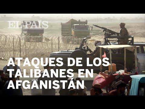 Ataques de los TALIBANES en AFGANISTÁN