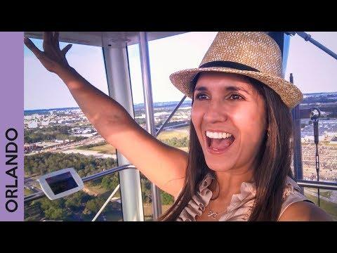 ORLANDO, FLORIDA | Tour at I Drive 360 + Disney Springs