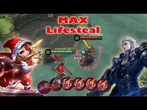 Ruby vs Alucard (Full Lifesteal Build) Lifesteal Siapa Yang Terhebat?