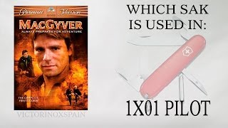 MacGyver - Que navaja usa en piloto? - Which sak is used in pilot? 001