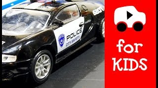 Police Toy Cars For Children Toys For Boys