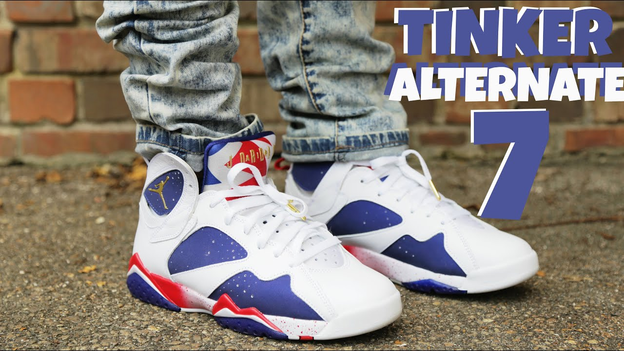competitive price 797f4 fd862 ... closeout air jordan vii 7 tinker alternate review and on foot youtube  70762 eb378