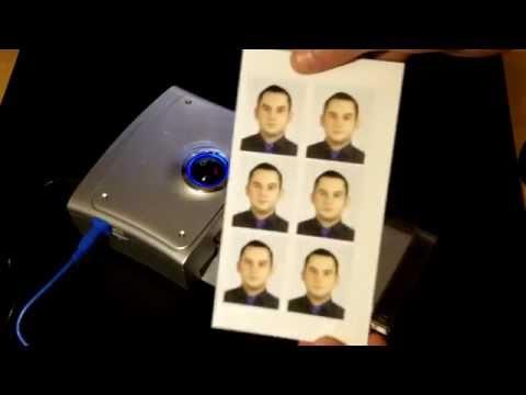 Fujifilm QS-7 Passport photo printing and trimming