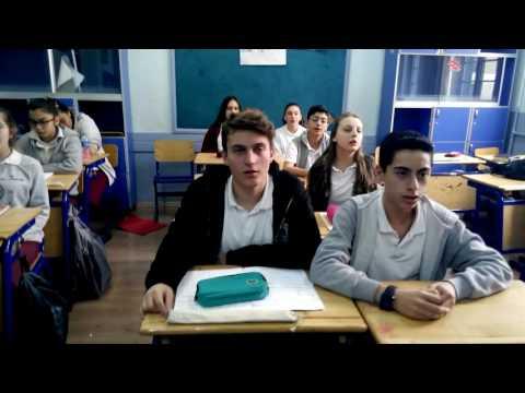 Azarbaijani song by Gazi secondary school İzmir