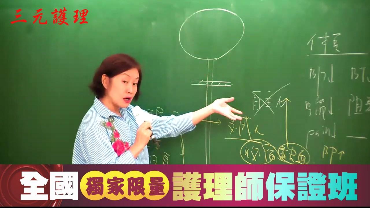 106年7月專技護理師-內外精闢解析-凌荃老師-上集 - YouTube