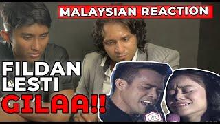 Malaysian Reaction on DA Asia 3 Fildan DA4 dan Lesti Gerimis Melanda Hati Konser Kemenangan