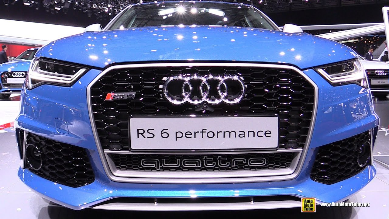 2016 Audi Rs6 Performance Exterior And Interior Walkaround 2016
