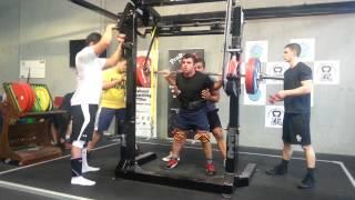 Allen Ozdil squats 220kg x 3 PTC