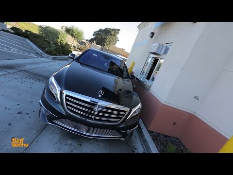 Mercedes S 65 AMG: Our V12 Biturbo Ride To Silicon Valley (German)