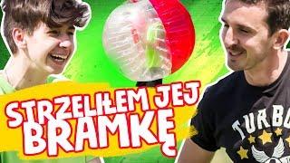 Zderzyli się?! Bubble Football Challenge  | WYZWANIA RUSZ SIĘ Z K! #1