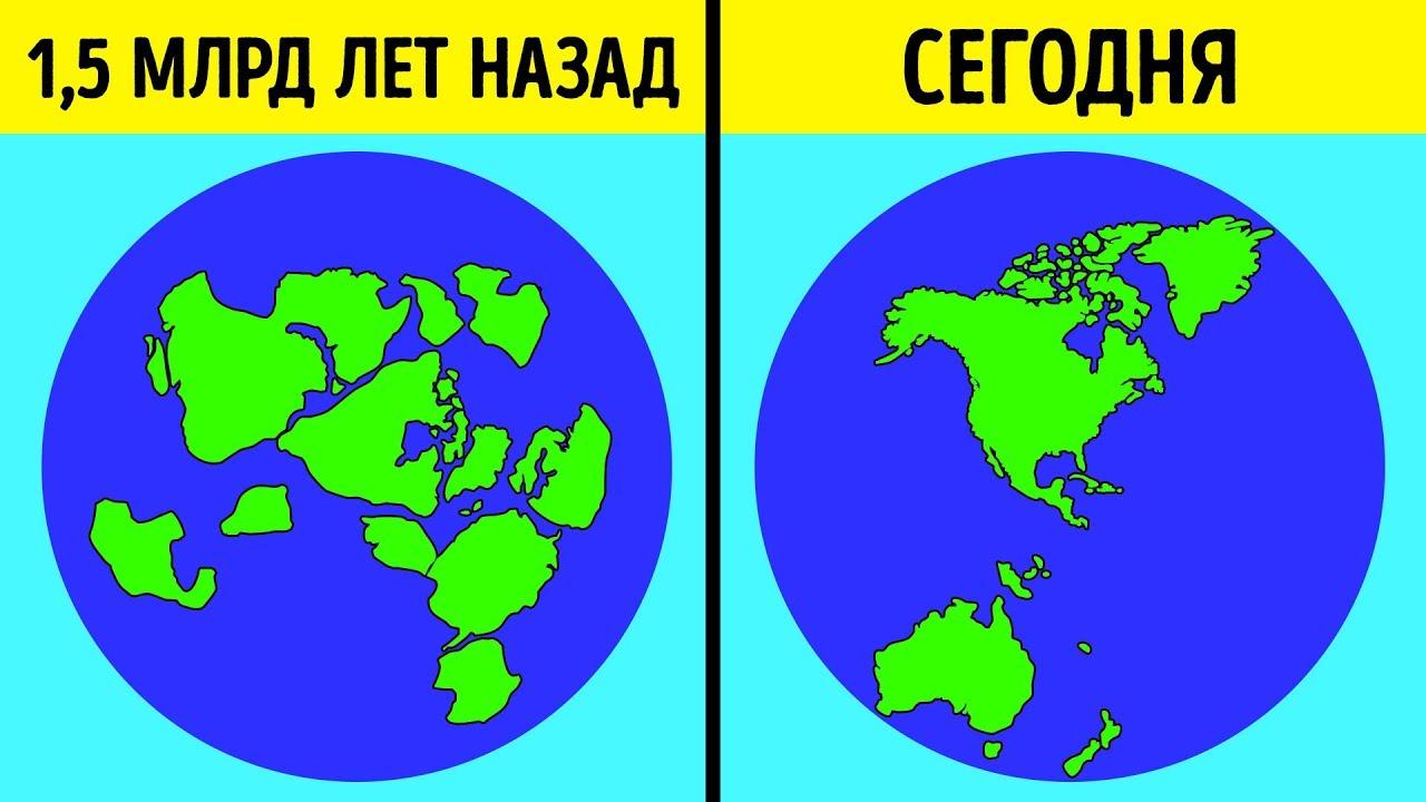 Новая Теория Возникновения Континентов