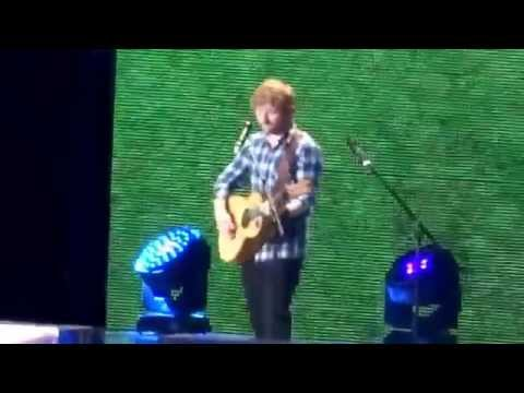 Ed Sheeran- One + Photograph - X Tour Wembley Stadium 10.7.15 HD