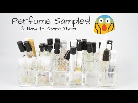 Perfume Samples! And How to Store Them!