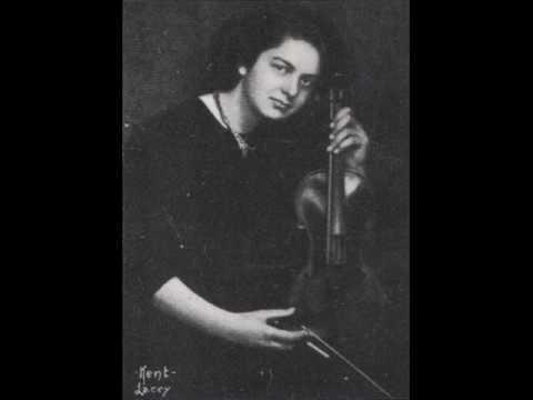 Brahms: Waltz - Isolde Menges, Violin