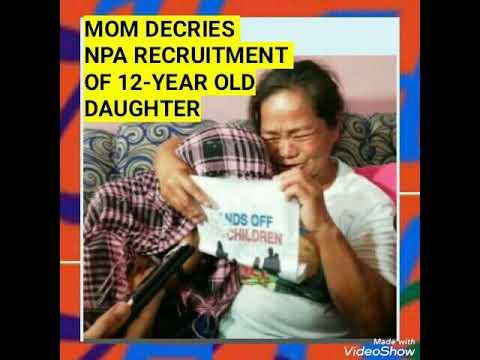 MOM DECRIES NPA RECRUITMENT OF 12-YEAR OLD DAUGHTER (THRU NPA LEGAL FRONTS)