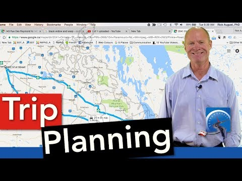 How to Plan a Route or Road Trip and Navigate to a Destination