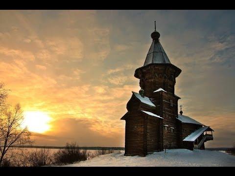 Чёрный кофе - Владимирская Русь. /Деревянные церкви Руси/