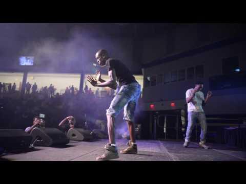 Yung Gordon performing at Florida Memorial Homecoming Concert & Greek Step Show 2017