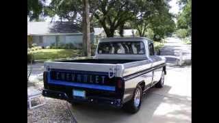 The restoration of the 1965 Chevy Custom Pickup!