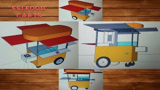 Gambar cover New#designs@2020#food-carts&kiosk#Sai-Structures-India#small#investment#business#year2020@SSIF#carts