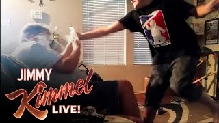 YouTube Challenge: Hey Jimmy Kimmel, I Played Catch with My Da…