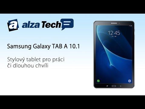 Samsung Galaxy TAB A10.1: Stylový tablet na práci i pro zábavu! - AlzaTech #448