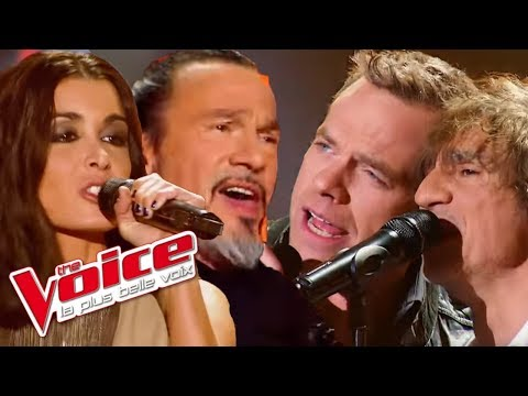 Adele - Rolling in the Deep | Garou, Jenifer, Bertignac, Pagny | The Voice 2012 | Blind Audiition