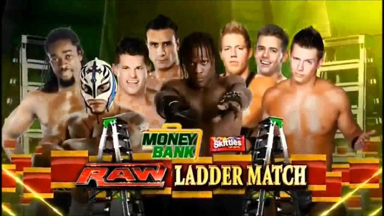 WWE money in the bank 2011 match card and promo - YouTube