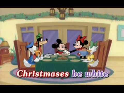 Disney Sing Along Songs Very Merry Christmas Songs 2002.White Christmas Disney Very Merry Christmas Songs