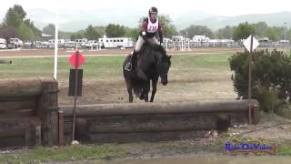 232XC Joseph McKinley on Desert Pearl Training Horse Cross Country Twin Rivers Ranch April 2014