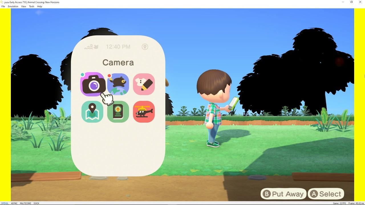 yuzu Early Access 710|Animal Crossing: New Horizons