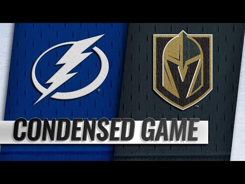 10/26/18 Condensed Game: Lightning @ Golden Knights