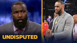LeBron doesn't regret joining the Lakers and dislikes drama — Kendrick Perkins | NBA | UNDISPUTED