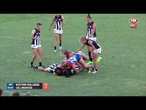 AFLW Highlights - Western Bulldogs v Collingwood