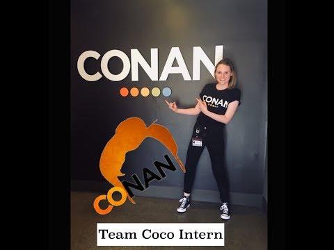 A Day In The Life Of A Conan O'Brien Intern