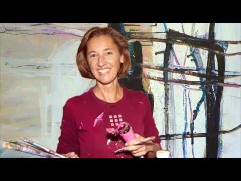 """Workshop mit Petra Ehrnsperger """"Abstrakte Malerei und Collagen"""""""