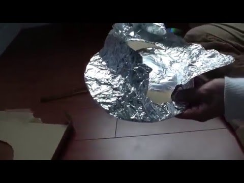 how to build hdtv antena using paper clips