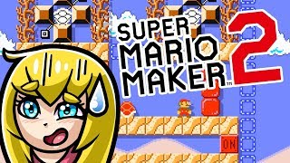 Super Mario Maker 2 - TROLL COURSES LIVE #1 (Nintendo Switch)