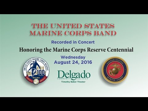 Delgado Community College Welcomes the Marine Corps Band