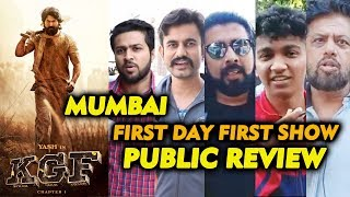 KGF CHAPTER 1 PUBLIC REVIEW | First Day First Show | Rocking Star YASH