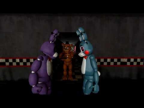 [SFM] FNAF - Staring Contest! - Bonnie VS Toy Bonnie!