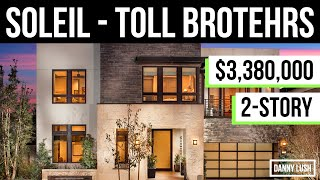 $3.3m Modern Contemporary Toll Brothers Home For Sale In California - Full Luxury Home Tour