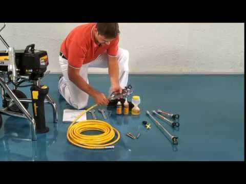 Wagner - How to connect a high-pressure airless hose - YouTube 57d169c31f9