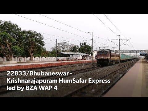 22833/Bhubaneswar - Krishnarajapuram HumSafar Express led by BZA WAP 4