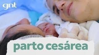 Parto cesárea: realização de duas mães | Partos Emocionantes | Boas Vindas