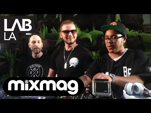 TJR and GTA b2b bass, trap and electro set in The Lab LA