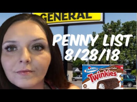 OMG! Penny Shopping List For Dollar General - Hostess