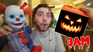 DO NOT ORDER HALLOWEEN HAPPY MEAL FROM MCDONALDS AT 3 AM!! (DISGUSTING)
